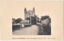 65. Eglise de MAZERES