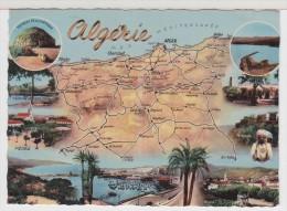 ALGERIE - Multivues - Carte Géographique - Cartes Géographiques