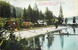 213705-Idaho, Coeur D´ Alene, Lake Scene, Twin Beaches, Summer Homes, John W. Graham Co No 1038 - Coeur D'Alene