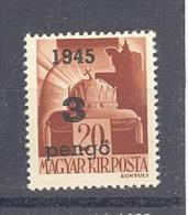 NAGYVÁRAD 1945 / ORADEA 1945  # 11 Aufdruck Type III   SELTEN   RRR - Emissions Locales