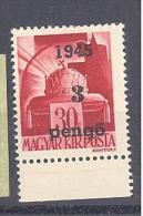 NAGYVÁRAD 1945 / ORADEA 1945  # 13 Aufdruck Type III  UR SELTEN   RRR - Emissions Locales