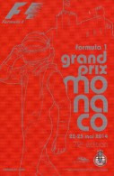 Grand Prix Formule 1 2014 Monaco Monte Carlo - Collections & Lots