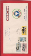 LESOTHO, 1968, FDC With Address,   Postal Service In Lesotho   Nr(s) 120-123, F3414 - Lesotho (1966-...)
