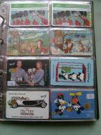 N.8 Schede Differenti LOTTO Fumetti Comics Cinema 101 Dalmatians - Schede Telefoniche