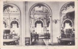 CPA ROYAN 17 LA CASINO INTERIEIR ENTREE DE LA SALLE DE BACCARA ANIMATION 1936 - Royan