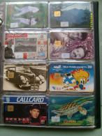 N.8 Schede Differenti LOTTO  GIBRALTAR Finland VIRGIN Islands CUBA - Collezioni