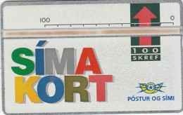 ICELAND - Simakort(05), CN : 208A, Tirage 15000, Mint