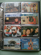 N.8 Schede Differenti LOTTO  Musica Music POP - Télécartes