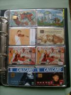 N.8 Schede Differenti LOTTO  Musica Music POP - Collezioni