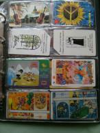 N.8 Schede Differenti LOTTO  Musica Music POLONIA   Israele Marc Chagall - Schede Telefoniche