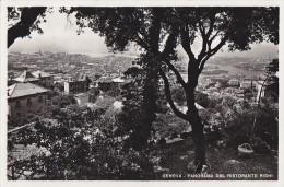 Italie - Genova - Panorama / Postal Mark 1937 - Genova (Genoa)