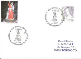 ITALIA - 2000 - SAN POTITO ULTRA (AV) Confraternita Maria SS. Del Soccorso - Giubileo 2000 - Christianity