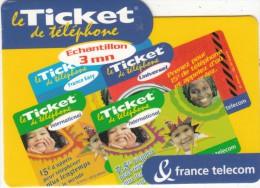 FRANCE - France Telecom Promotion Prepaid Card, Tirage 40000, Exp.date 21/02/04, Mint - France
