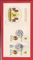 LESOTHO, 1982, FDC, Mint, Diana Birthday Special 2 Series, Nr(s)393-396,  F943 - Lesotho (1966-...)