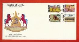 LESOTHO, 1985, Mint FDC,  Moshoeshoe II  , Ms, Nr(s) 495-498,,  F 955 - Lesotho (1966-...)