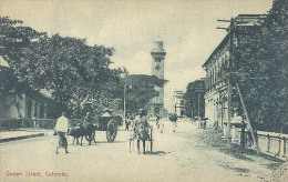 Ceylon, Queen Street , Colombo (Sri Lanka)  (Ceylan) - Sri Lanka (Ceylon)