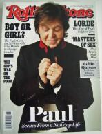 ROLLINGSTONE USA - 1195 Du 7 Novembre 2013 - Paul McCARTNEY - BEATLES - Musique