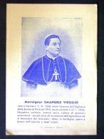 SARDEGNA -SARDEGNA-MONSIGNOR EMANUELE VIRGILIO TORTOLI OGLIASTRA NUORO -F.P. LOTTO N° 372 - Nuoro
