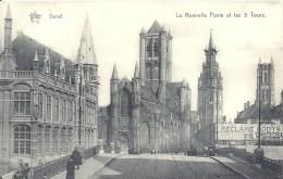 BELGIQUE  - FLANDRE ORIENTALE - GAND - GENT - La Nouvelle Poste Et Les Trois Tours - Gent