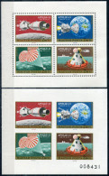 Hungary 1970. Michel #2594/97 A+B. 2 Klb. MNH/Luxe. Space (B13) - Space