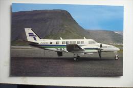 BEECH 99   FLUGTAK   TF ELD    ISAFJORDUR AIRPORT - 1946-....: Modern Era