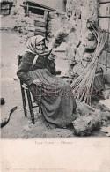 Corse - FILEUSE CORSE   - Edition Moretti  N° 82 - Dos  Précurseur Vierge  - 2 Scans - Autres Communes