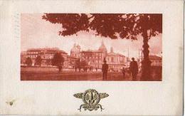 LAZIO ROMA PONTE CAVOUR ,UCCELLI Ornamento Oro  CARTOLINA 1921 - Ponts