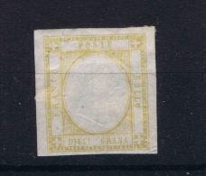 Italy 1861 Sa 22, Mi 6 MH/* - Nuevos