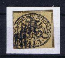 Italy Stato Pontificio,1852, 3 Baj Sa 4, Mi 4b Used - Kerkelijke Staten