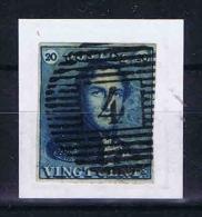 Belgium, 1849 OPB Nr 2 Used (4) - 1849 Epaulettes