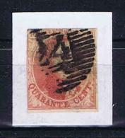 Belgium, 1861 OPB Nr 12 A Used 18 X 21 Mm