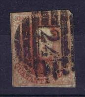 Belgium, 1861 OPB Nr 12  Used 17,5 X 22 Mm