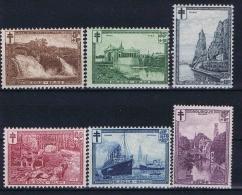 Belgium, 1929 OPB Nr 293-298 MH/*