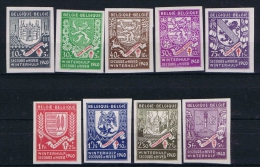 Belgium, 1940 OPB Nr 538 - 546 MH/* Non Perforated,