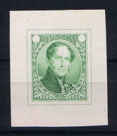 Belgium, 1849-58 Proof/epreuve No Value, Thick Paper - Proofs & Reprints