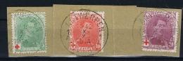 Belgium, OPB 129-131, 1912 Used