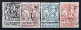 Belgium, OPB 92-98 Used - 1910-1911 Caritas