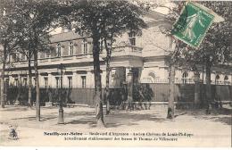 Neuilly Sur Seine - Boulevard D´ Argenson - Ancien Château De Louis Philippe  TTB Bien Timbrée - Neuilly Sur Seine