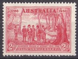 Australia 1937 Philip At Sydney Cove 2d MNH - 1937-52 George VI