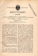 Original Patentschrift - Anton Wimmer In Scheibbs , 1888 , Schälmaschine , Mühle !!! - Maschinen