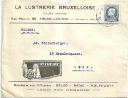 "Motiv Brief  ""La Lusterie Bruxelloise, Bruxelles""            Ca. 1920 - 1915-1920 Albert I"