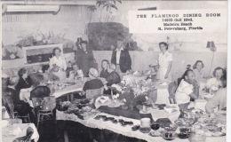 FLORIDA -THE FLANGO DINING ROOM, MADERIA BEACH - St Petersburg
