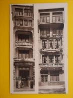 Merville Hotel Digue Sur Mer 26 OSTEND Belgium *Vintage* Postcard C1950s - Oostende
