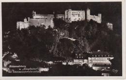 AK Salzburg Und Stieglkeller Bei Scheinwerferbeleuchtung - 1936 (3946) - Salzburg Stadt