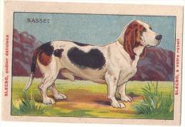 Chromo -chien  Basset - Bledine - Petits Defauts - Autres