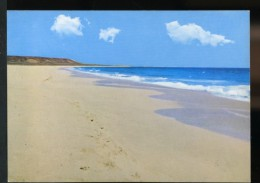 PHOTO POSTCARD PRAIA SANTA MARIA CABO VERDE AFRICA CARTE POSTALE - Cape Verde