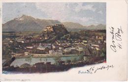 CPA Salzburg - Panorama - 1902 (3979) - Salzburg Stadt