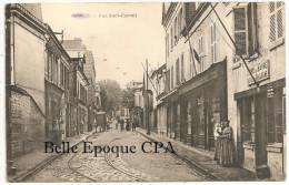 76 - Le Hâvre - SANVIC - Rue Sadi-Carnot / Octroi De Boulogne +++++ Vers L´Angleterre ++++++ RARE / JAMAIS Sur Delcampe - Other