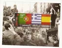 Portugal ** & 25 De Abril, Democracia 1974-2014 - Stamps