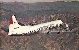 220049-Garuda Indonesian Airways, Lockheed L-188-C Electra, Aviation World No L-005 - 1946-....: Moderne